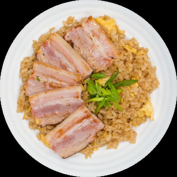 Рис з беконом