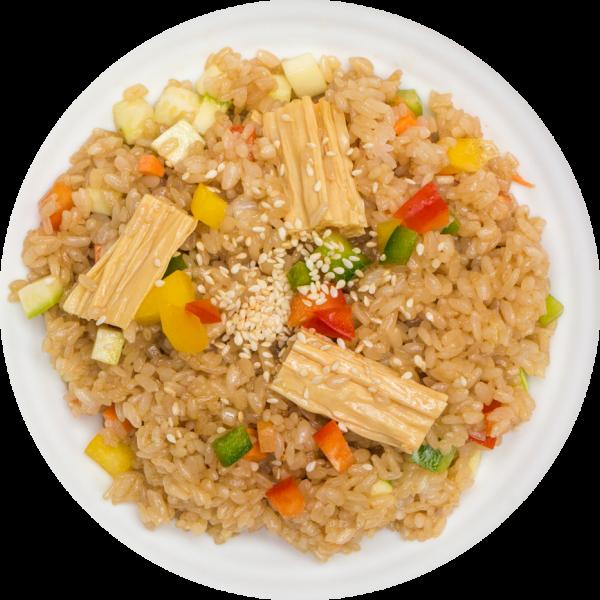Рис з овочевим міксом